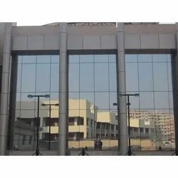 Acp Sheet Cladding glass Structural Glazing Service, Thickness: both 3mm and 4mm., For Exterior