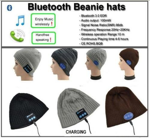 Bluetooth - Beanie Hat at Rs 850  piece  d92b69258ce