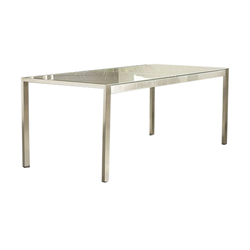 White Glass Dinning Table