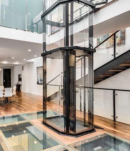 Glass Home Elevator