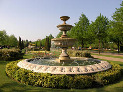 Cluster Fountain For Park