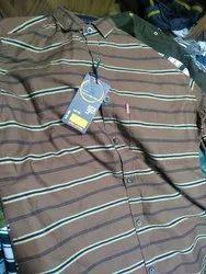 Brown Stripe Shirt
