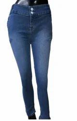 Ladies Dark Blue Jeans