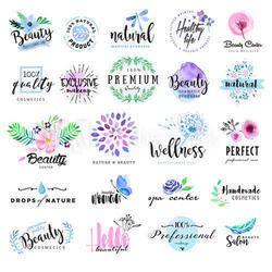 Cosmetics Labels, Glossy