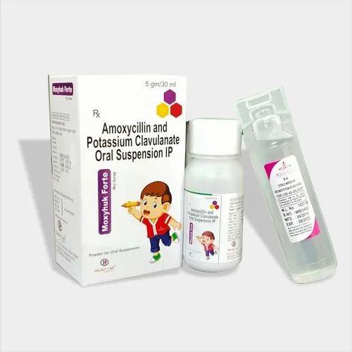 Amoxycillin and Potassium Clavulanate Oral Suspension IP