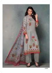 Rivaa Exports Gazal Pashmina Printed Winter Salwar Kameez