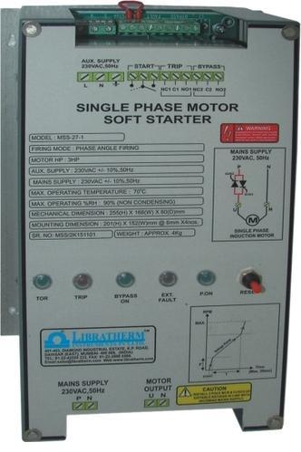 Thyrirstor Ac Motor Soft Starters 1 2 And 3 Phase Single