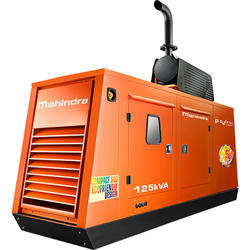 Mahindra 125 kVA Silent  Diesel Generator Set