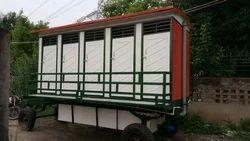 10 Seater Mobile Toilet Van on Rent