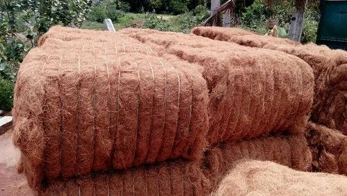 Coconut Fiber Brown at Rs 25/kg | Coir Fibre