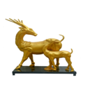 Golden Deer Pair