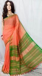 Fancy Linen Handloom Saree