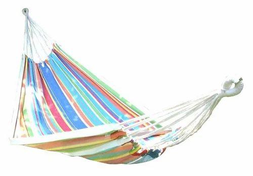 eco friendly cotton canvas hammock swing   multistripe eco friendly cotton canvas hammock swing   multistripe cotton      rh   indiamart