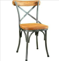 Awesome Metal Wood Chairs for Restaurant