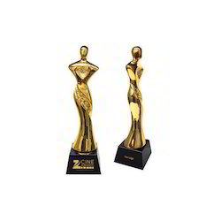 Golden Brass Film Fare Award Trophy