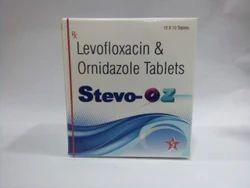 Stevo-Oz Levofloxacin and Ornidazole Tablets, 10 X 10 Tablets