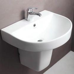 Hindware Cedar Half Pedestal Wash Basin