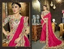 Party Designer Pink Stylish Sarees