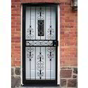 Wrought Iron Grill Gate