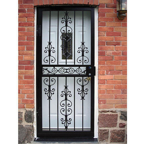 Gate Grill Iron Grill: Wrought Iron Grill Gate, रौट आयरन ग्रिल