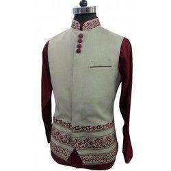 Nehru Jacket Modi Beige Jacket