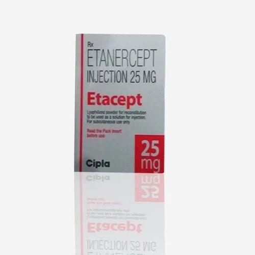 etacept injection 3ml iv route rs 6073 piece generic meds exim