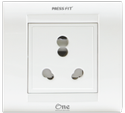 Press Fit - One 6/16 Amp. 1-in-1 Socket