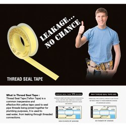 Teflon Tape 10 Mt, For Sealing, Coverage: 25 Mtrs