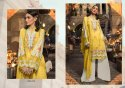 Kaara Suits Mariya B Lawn 2020 Silver Pakistani Style Dress Material Catalog