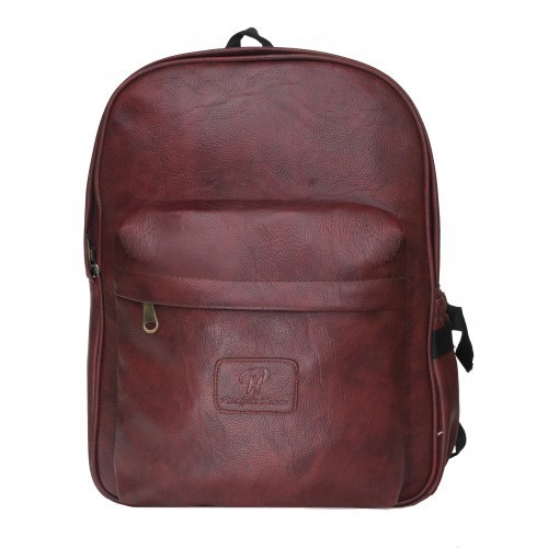 4c8c5909e949 15.6 Inch Pranjals House Brown Leather Backpack at Rs 1199  piece ...