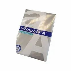 White Duble A Presentation Copier Paper, Packaging Size: 200 Sheets Per Pack, Paper Size: A4