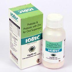 Prebiotic and Probiotic With Zinc for Oral Suspension
