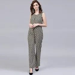 Ladies Cotton Jumpsuit