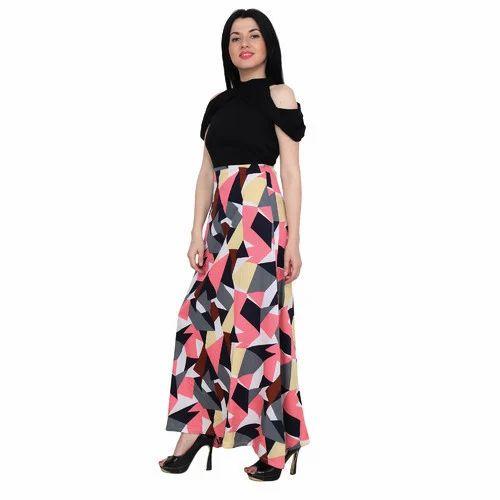 ecc423a1f207e Western Wear Party Wear Printed Cold Shoulder Western Dress