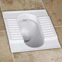 White Orissa Pan Toilet Seat