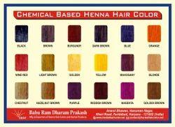 Chemical Based Henna Hair Color