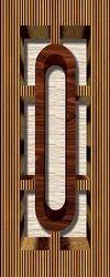 3d Door Design Print