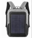 Sarrvad Black & Grey Solar Charging Backpack, 5v, 10 Watt