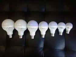Plastic LED Bulb 7W (Cool Day Light), Base Type: B22