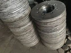 Iron Round MS Center Wheel Plates, For Industrial, Size: OD490 ID220 And OD525 ID260