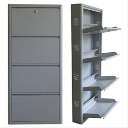 Mild Steel Wall Mounted M.S. Shoe Rack
