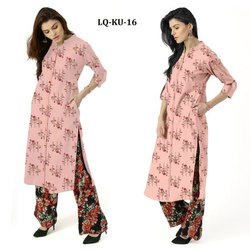Flex Cotton Ladies Kurti