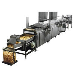 Automatic Potato and Banana Chips Process Line