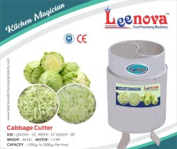 Leenova Cabbage Cutting Machine