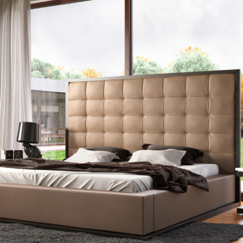 Long Back Wooden Double Bed at Rs 68000 /piece | Wooden Double Bed ...