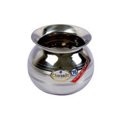 """Polished Stainless Steel Lassi Lota, Size: 16 Inch. To 20"""""""