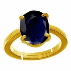 Blue Sapphire Stone Ring Asthdhatu Gemstone