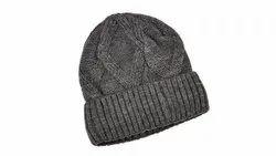 Grey Woolen Cap