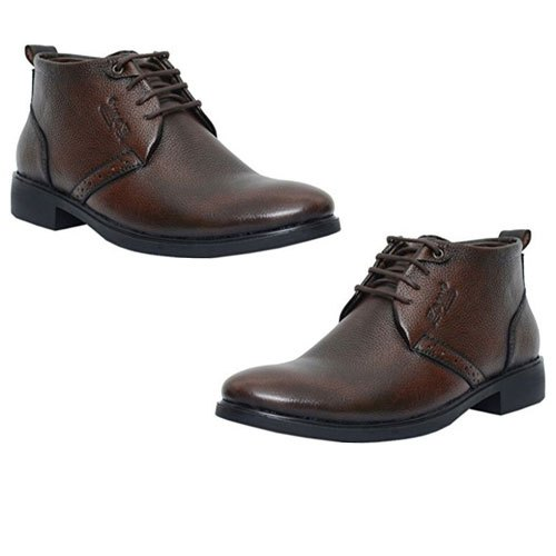 fb780ed5d0 Formal Mens High Ankle Leather Shoes, Size: 6-12, Packaging Type ...