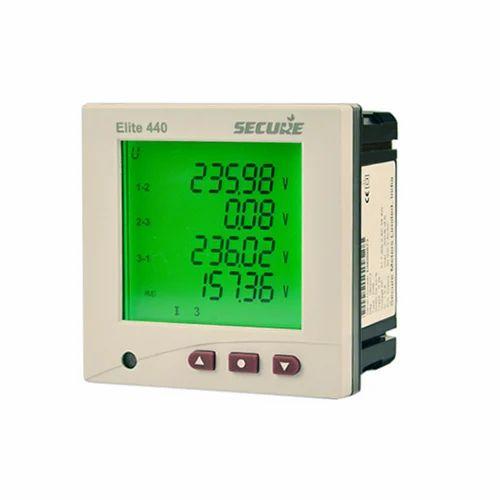 Secure Multi Function Meters Elite 440  Frequency  50  60hz